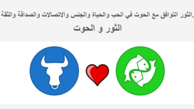 Photo of الثور التوافق مع برج الحوت علامة-الثور-والتوافق-مع-علامة-الحوت