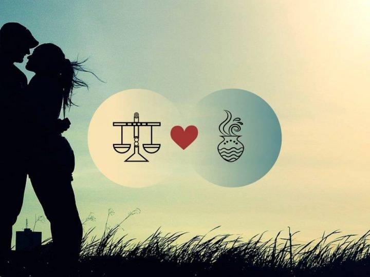 التوافق بين برج الميزان والدلو في الحب والعلاقة والجنس