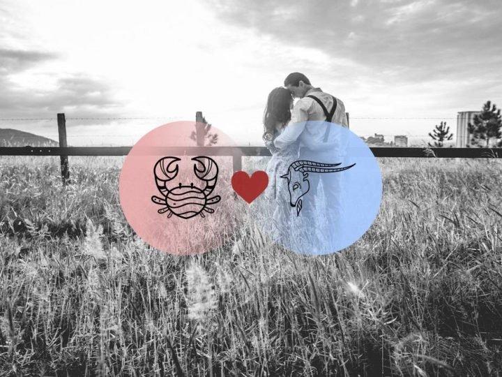 السرطان والجدي التوافق في الحب والعلاقة والزواج  والجنس
