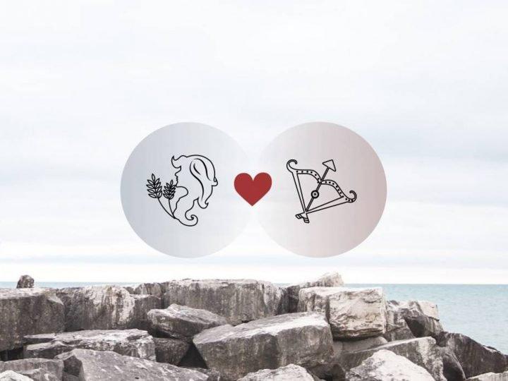 العذراء والقوس التوافق في الحب والزواج والعلاقة والجنس