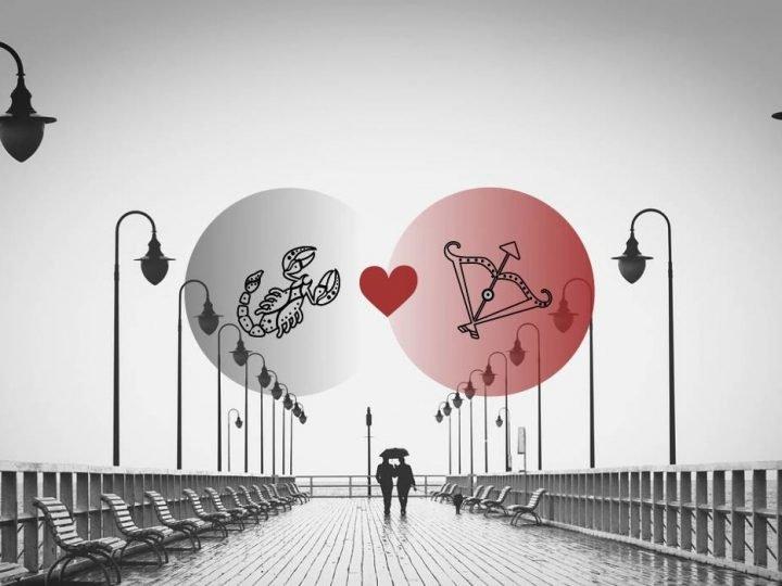 العقرب والقوس التوافق في الحب والزواج والعلاقة والجنس