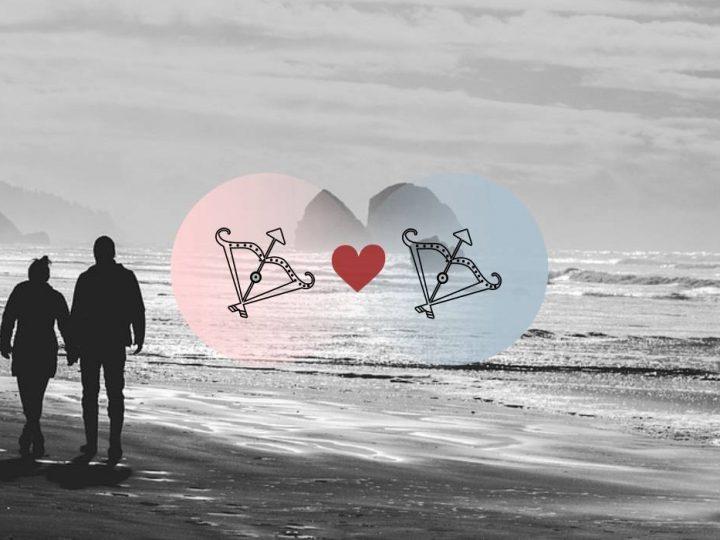 القوس والقوس التوافق في الحب والزواج والعلاقة والجنس