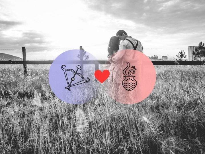 برج القوس والدلو التوافق بين العلامتين في الحب والعلاقة والجنس